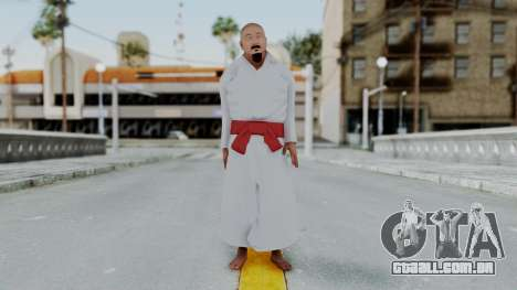 WWE Mr Fuji para GTA San Andreas segunda tela