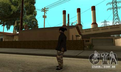BALLAS3 para GTA San Andreas segunda tela