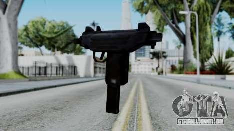 GTA 3 Uzi para GTA San Andreas segunda tela
