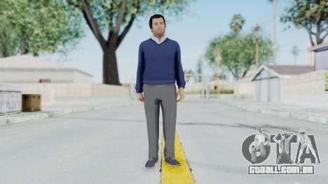 GTA 5 Michael De Santa para GTA San Andreas segunda tela