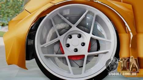 Toyota Vellfire S Class para GTA San Andreas vista traseira