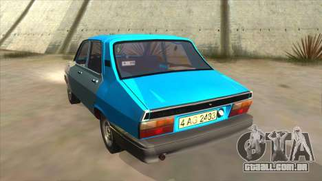 Dacia 1310 Rusty para GTA San Andreas traseira esquerda vista