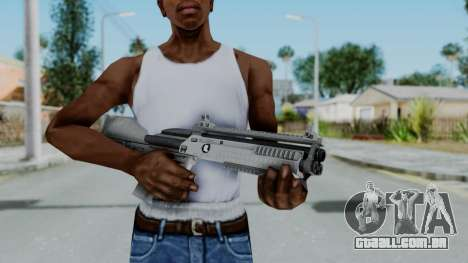 GTA 5 Bullpup Shotgun - Misterix 4 Weapons para GTA San Andreas terceira tela
