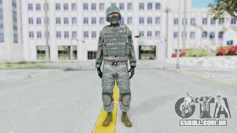 Acu Soldier Balaclava v3 para GTA San Andreas segunda tela