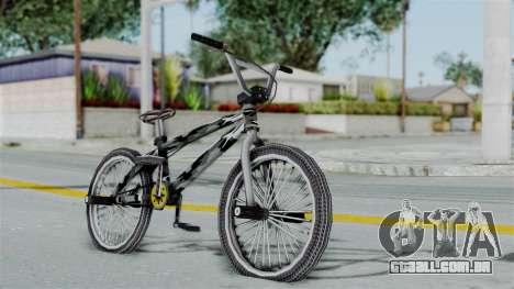 GTA 5 BMX Camo para GTA San Andreas esquerda vista