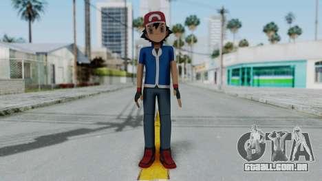 Pokémon XY Série - Cinzas para GTA San Andreas segunda tela