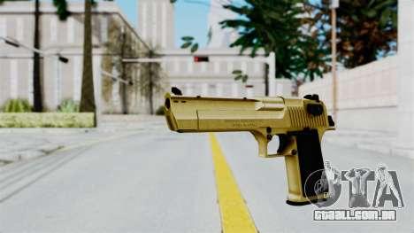 Pouxs Desert Eagle v2 Gold para GTA San Andreas segunda tela