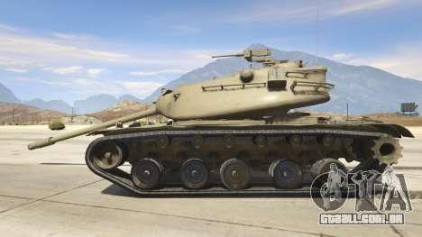 GTA 5 M103 vista lateral esquerda