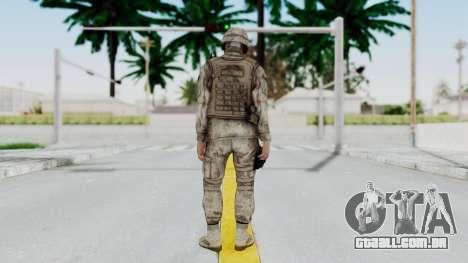 Crysis 2 US Soldier 4 Bodygroup A para GTA San Andreas terceira tela