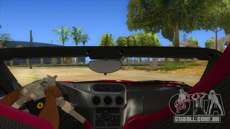 Ferrari 550 Barchetta Pinifarina US Specs 2001 para GTA San Andreas vista interior