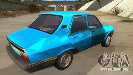 Dacia 1310 Rusty para GTA San Andreas vista direita