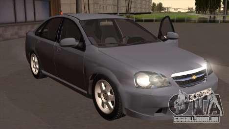 Chevrolet Lacetti Sedan para GTA San Andreas