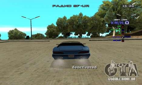 Drift Camera para GTA San Andreas segunda tela
