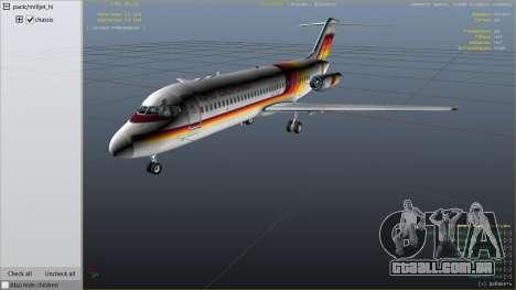 GTA 5 McDonnell Douglas DC-9-15 sexta imagem de tela