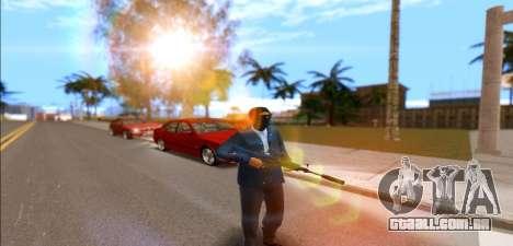 Exército hora para GTA San Andreas segunda tela