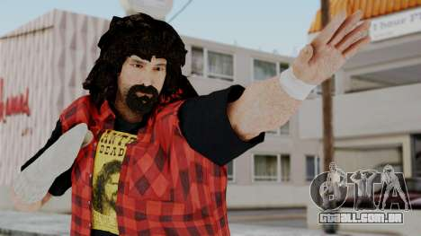 WWE Mick Foley para GTA San Andreas