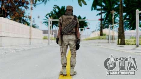 Crysis 2 US Soldier 5 Bodygroup B para GTA San Andreas terceira tela
