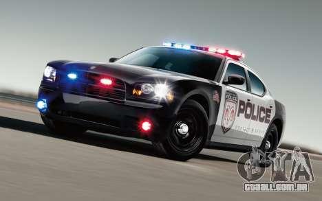 Legal a polícia luzes para GTA San Andreas