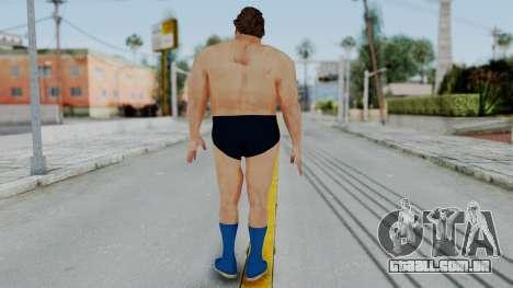 Andre Giga para GTA San Andreas terceira tela