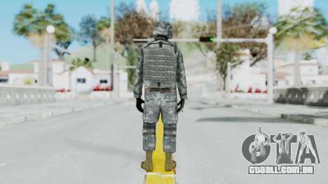 Acu Soldier Balaclava v2 para GTA San Andreas terceira tela