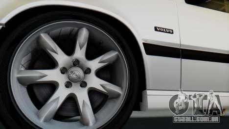 Volvo 850R 1997 Tunable para GTA San Andreas vista direita