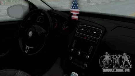 Volkswagen Polo 6R 1.4 HQLM para GTA San Andreas vista direita