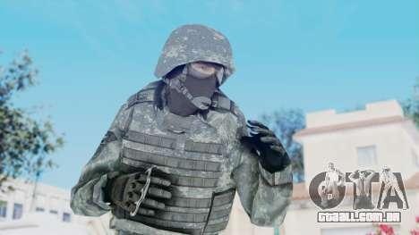 Acu Soldier Balaclava v3 para GTA San Andreas