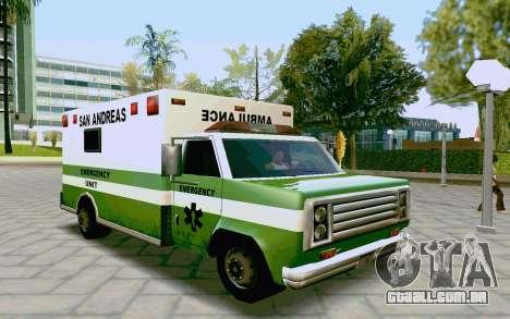 Journey Ambulance para GTA San Andreas
