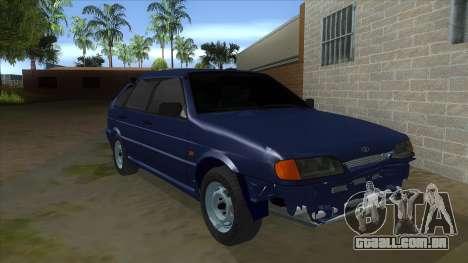 2114 um Pouco Bq para GTA San Andreas vista traseira