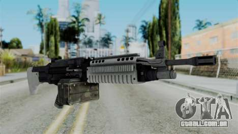 GTA 5 Combat MG - Misterix 4 Weapons para GTA San Andreas