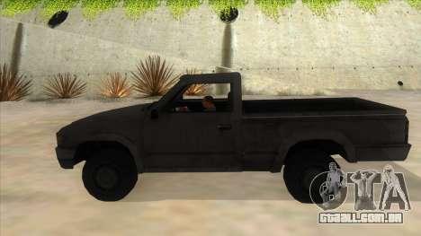 Toyota Hilux Militia para GTA San Andreas esquerda vista