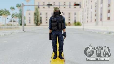 GIGN 2 Masked from CSO2 para GTA San Andreas segunda tela