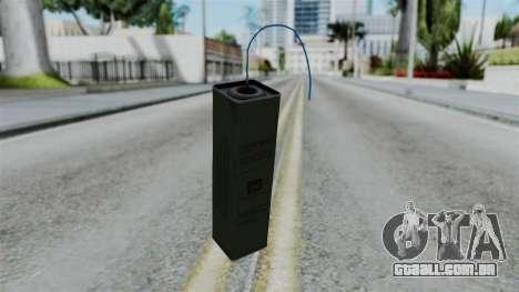 No More Room in Hell - TNT para GTA San Andreas segunda tela
