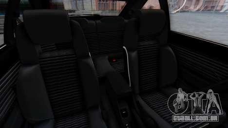Toyota Celica Supra Mk2 para GTA San Andreas vista traseira