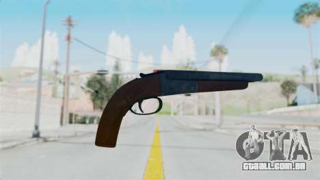 Double Barrel Shotgun from Lowriders CC para GTA San Andreas segunda tela