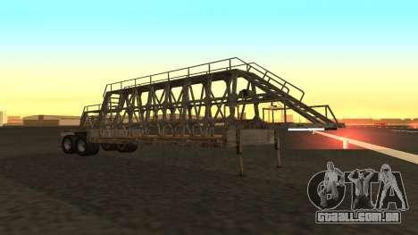 O trailer painéis para GTA San Andreas