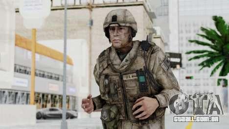 Crysis 2 US Soldier 4 Bodygroup A para GTA San Andreas
