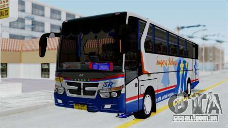 Laksana Legacy Hino AK8 Sugeng Livery para GTA San Andreas