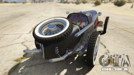 GTA 5 Mefist 1.2 traseira vista lateral esquerda