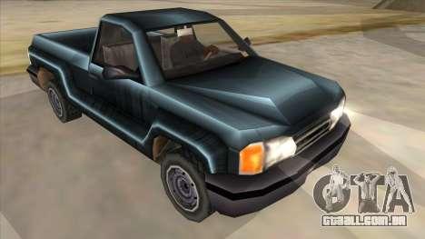 GTA III Bobcat Original Style para GTA San Andreas vista traseira