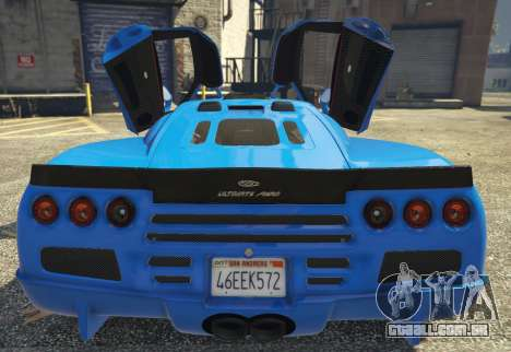 SSC Ultimate Aero [Replace] 1.0 para GTA 5