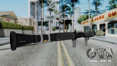 GTA 5 RPG - Misterix 4 Weapons para GTA San Andreas terceira tela