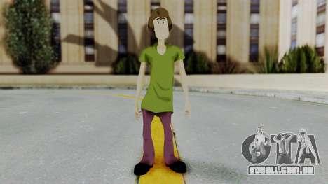 Scooby Doo Salcisha-Shaggy para GTA San Andreas segunda tela