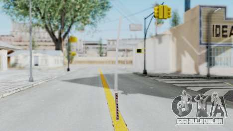 Samurai Sword para GTA San Andreas segunda tela