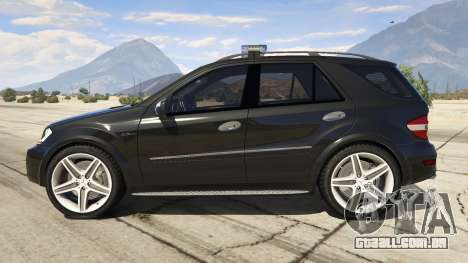 2009 Mercedes-Benz ML63 AMG FBI para GTA 5
