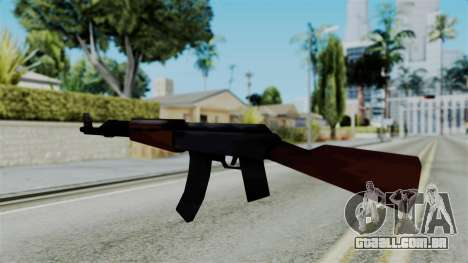 GTA 3 AK-47 para GTA San Andreas segunda tela