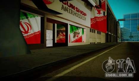 Iranian ammunation para GTA San Andreas segunda tela