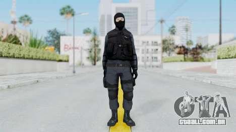 GTA 5 S.W.A.T. Police para GTA San Andreas segunda tela