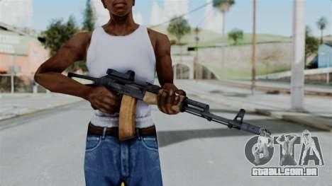 Arma2 AKS-74 Cobra para GTA San Andreas terceira tela