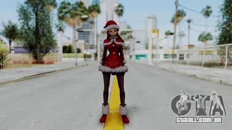 One Piece Pirate Warriors - Nami Christmas DLC para GTA San Andreas segunda tela
